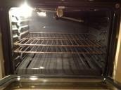 Oven racks inside