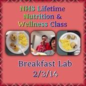 Breakfast lab