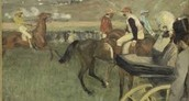 Edgar Degas - The Race Track