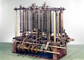 1822 Charles Babbage takes first steps in the construction of machines