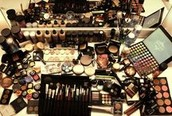 Dependent on products to make you beautiful