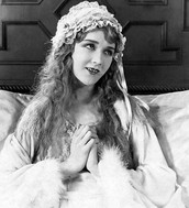 Mary Pickford a movie star of the 1920's