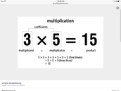 How to multiply decimals.