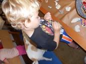 Lucas was very focused