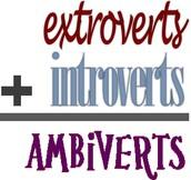 Ambivert, Introvert, Extrovert