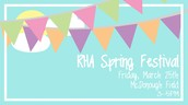 RHA Spring Festival