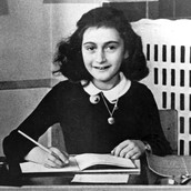 Anne Frank, all grown up and ready to write