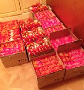 250 лосьонов для тела + 25 Бархатных ручек на 8 марта
