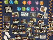 Mix It Up Lunch was a fun activity for students to learn more about each other.