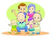 יום המשפחה נחגג בסוף חודש שבט הוא יתרחב מיום האם ליום המשפחה