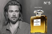Brad Pitt & Chanel