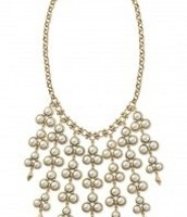 Dahliah bib necklace