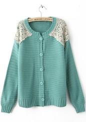 De claro un color suéter