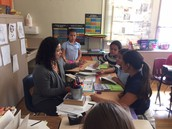 Jenny teaching a Guided Reading Group