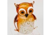 Juliana Objects d'art Glass Owl Figurine