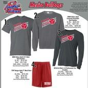 Order Volleyball T-shirts and Bulldog Shorts