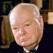 Winston Churchill at 80 Years Old