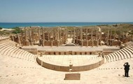 The theater Leptis Magna