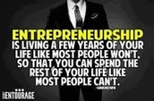 What is a entrepreneur