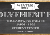 Winter Club Involvement Fair