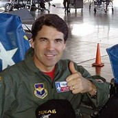 Rick Perry Air Force