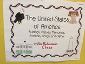 The United States of America from Mrs. Robinson's 4th Grade