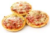 Pizzetas 4 quesos