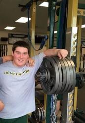 Gators of the Week:  Lynch squats 600 lbs.