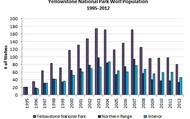 Yellowstone National Park Wolf Territories