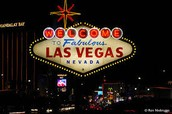 """""""Welcome to Fabulous Las Vegas"""" sign."""