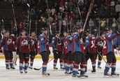 Avalanche winning