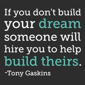 Building DREAMS: Being your own BOSS