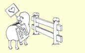 """בעקבות הצפייה בסרטון """"גדר , כבשה ואיש עם בעיה"""" ענה על השאלות הבאות:"""