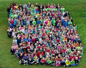 School Spirit Day- and All School Picture!