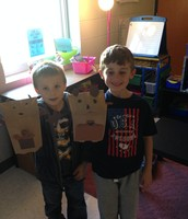 Students made kangaroo puppets to support our mammal learning!