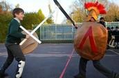 A Greek Battle