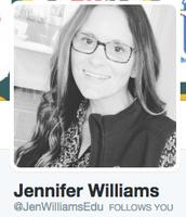 Twitter Help- @JenWilliamsEdu