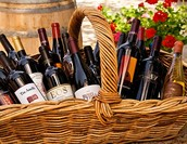 Wine Basket Provided by the CAM Board of Directors