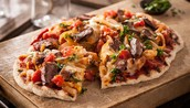 Grilled Cheesesteak Pizza