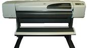 """HP DESIGNJET 500 42"""" WIDE FORMAT PLOTTER"""