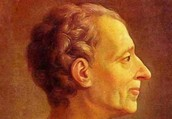 Baron de Montesquieu Inspiration to the Constitution