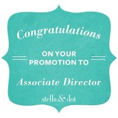 Promoted to Associate Director