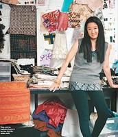 Wang en su estudio
