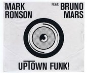 'Uptown Funk' by 'Mark Ronson' ft. 'Bruno Mars'