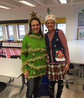 Ugly Holiday Sweater Competition
