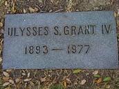 Ulysses S. Grants grave stone