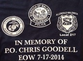 T-Shirt Fundraiser for the Christopher Goodell Scholarship Fund