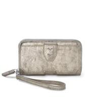 Madison Tech Wallet - Brushed Metallic ($45)