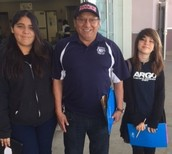Thank you Mr. Pineda for your support with Adelante Mujer