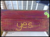 $55 - Yes Sign